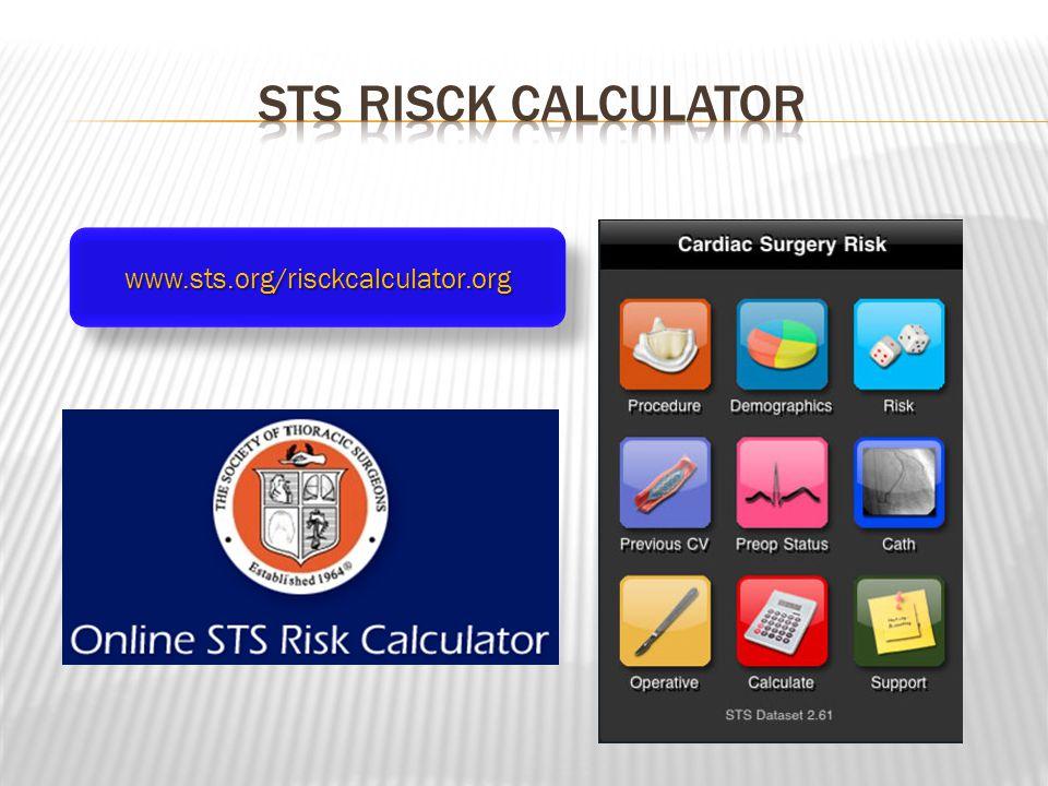 www.sts.org/risckcalculator.orgwww.sts.org/risckcalculator.org