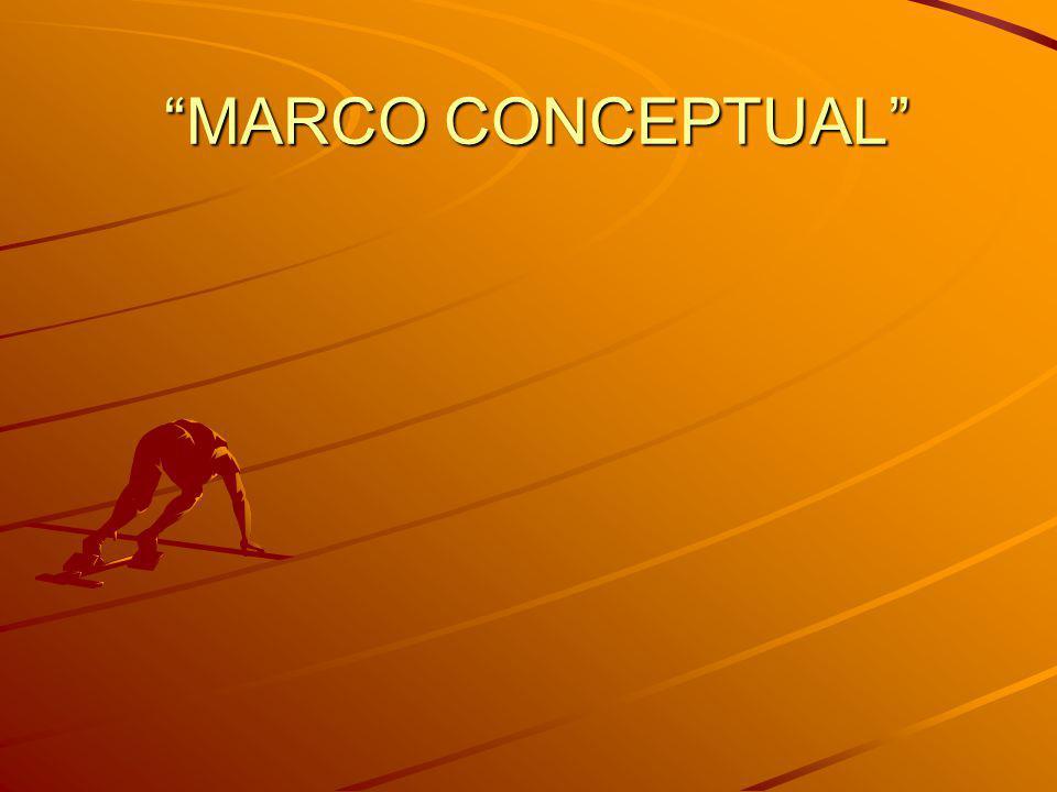 MARCO CONCEPTUAL MARCO CONCEPTUAL
