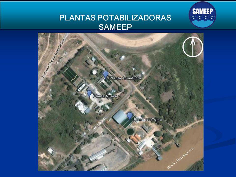 PLANTAS POTABILIZADORAS SAMEEP