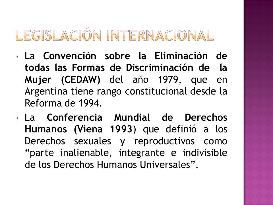 Nación.Ley 25.673 (2003). Ley nacional de Salud Sexual y Procreación Responsable Nación.