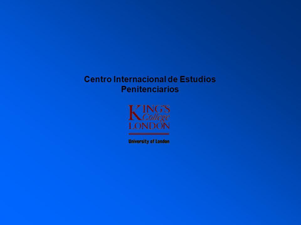 La administración penitenciaria en el contexto de los derechos humanos Sistemas de Inspección y control Chubut 12 noviembre 2008 International Centre for Prison Studies