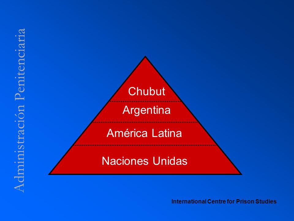 Administración Penitenciaria International Centre for Prison Studies Naciones Unidas América Latina Argentina Chubut