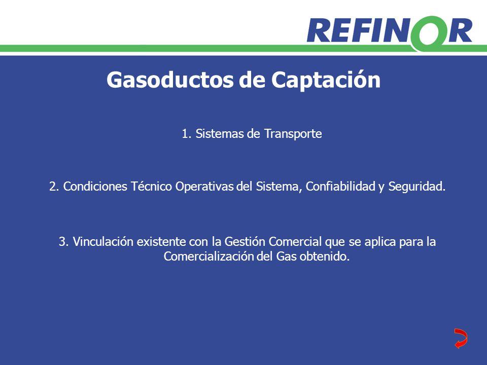 Gasoductos de Captación 3.