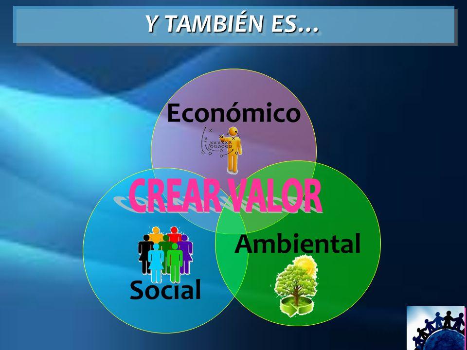Crecimiento Económico SER UNA ORGANIZACIÓN ECONÓMICAMENTE EFICIENTE.
