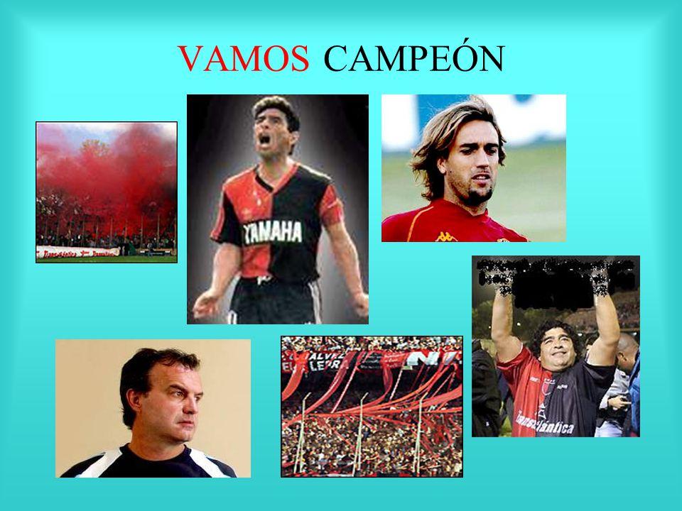 VAMOS CAMPEÓN