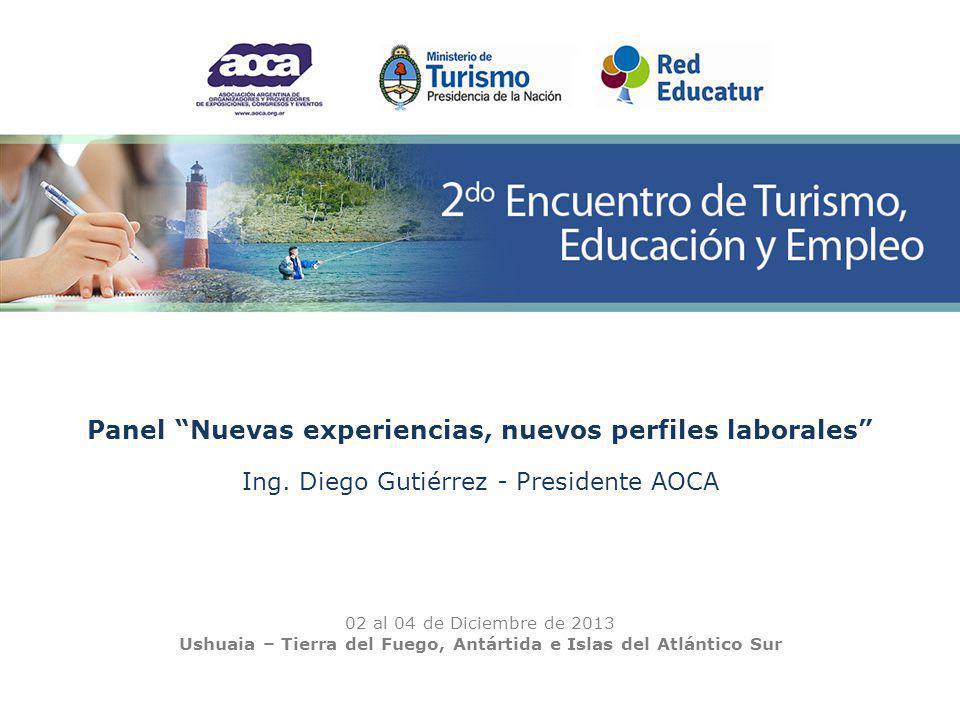 Panel Nuevas experiencias, nuevos perfiles laborales Ing.