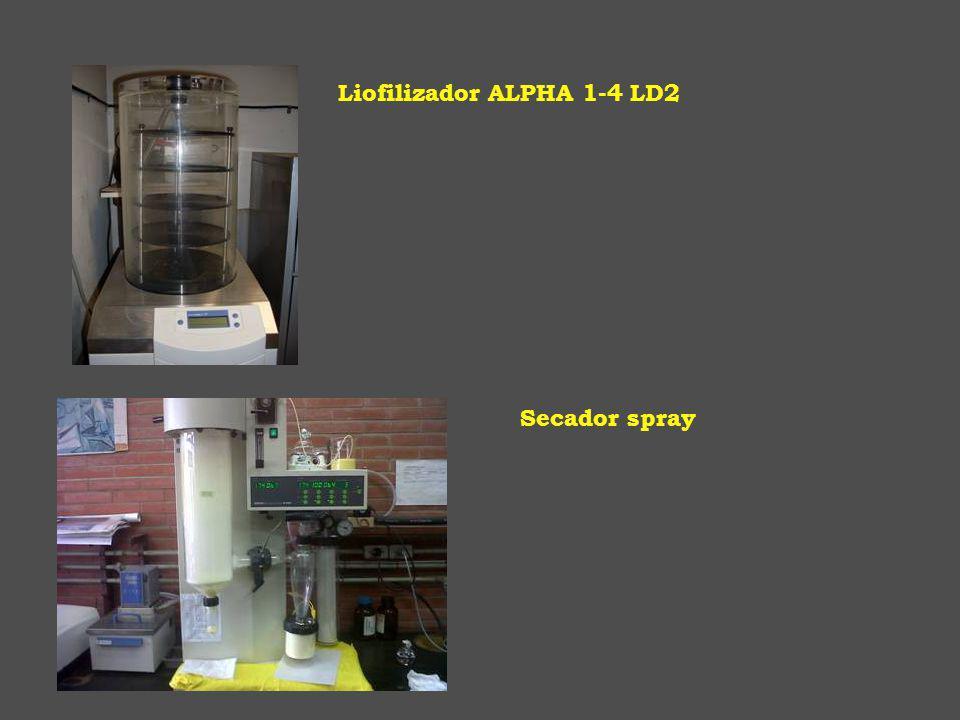 Secador spray Liofilizador ALPHA 1-4 LD2