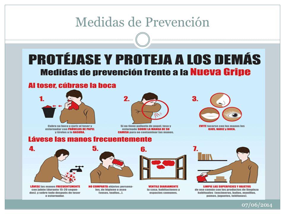 Medidas de Prevención 07/06/2014