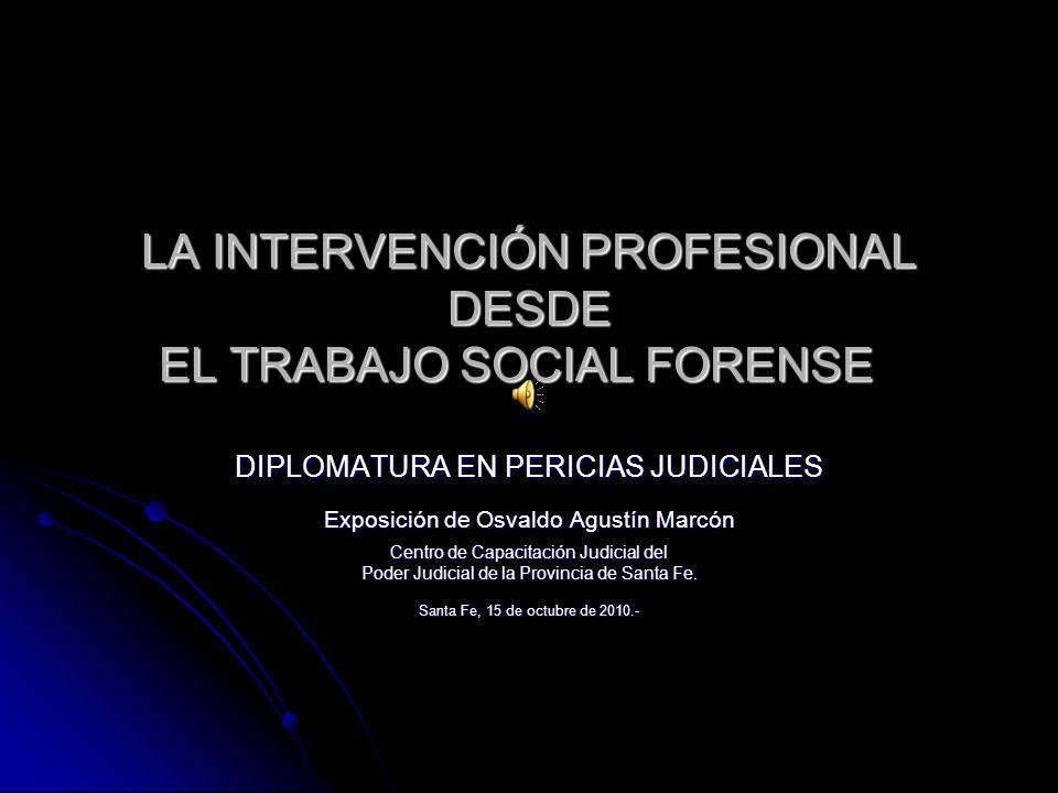 Encuadre general: dos lógicas posibles Diagnóstico; Diagnóstico; Intervención. Intervención.