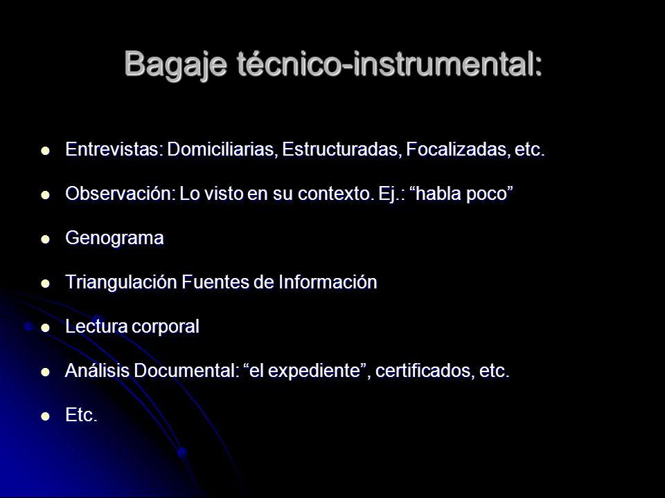 Única sugerencia que daremos aquí para el proceso pericial: el primer paso Aplicación de la técnica Análisis DocumentalAnálisis Documental sobre el EXPEDIENTE