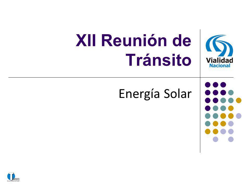 XII Reunión de Tránsito Energía Solar