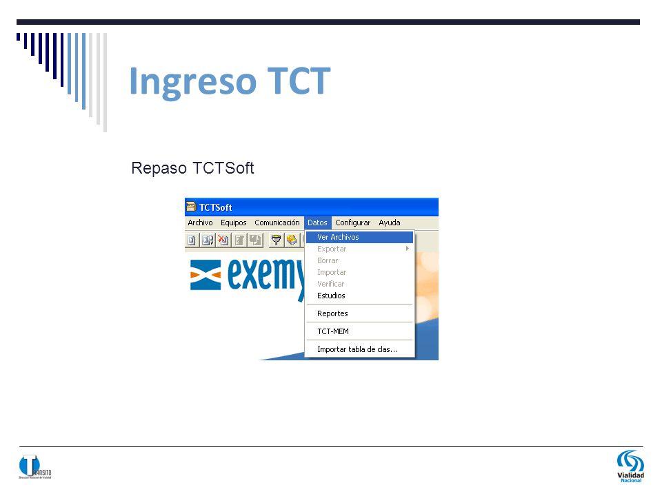 Ingreso TCT Repaso TCTSoft
