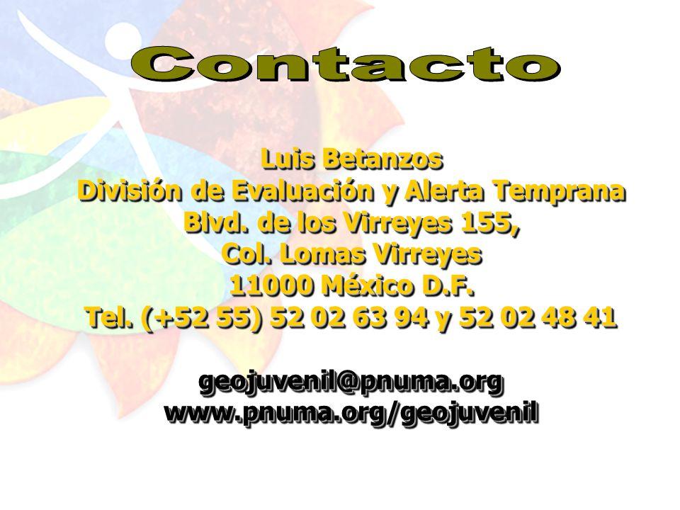 MEXICO MEXICO COSTA RICA PERU ARGENTINA CUBA GEO Juvenil Centroamericano Informes terminadoos En marcha GEO Juvenil para el Caribe GEO Juvenil en la región URUGUAY EL SALVADOR HODURAS GUATEMALA PANAMA NICARAGUA Por iniciar BRASIL COLOMBIA SURINAM GUYANA