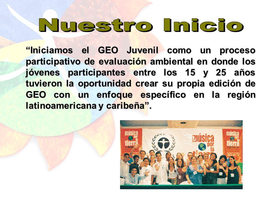 El proyecto GEO Juvenil es hoy reconocido gracias al esfuerzo de cada uno de los participantes que se encargó de implementarlo en la región y después en cada uno de los países.