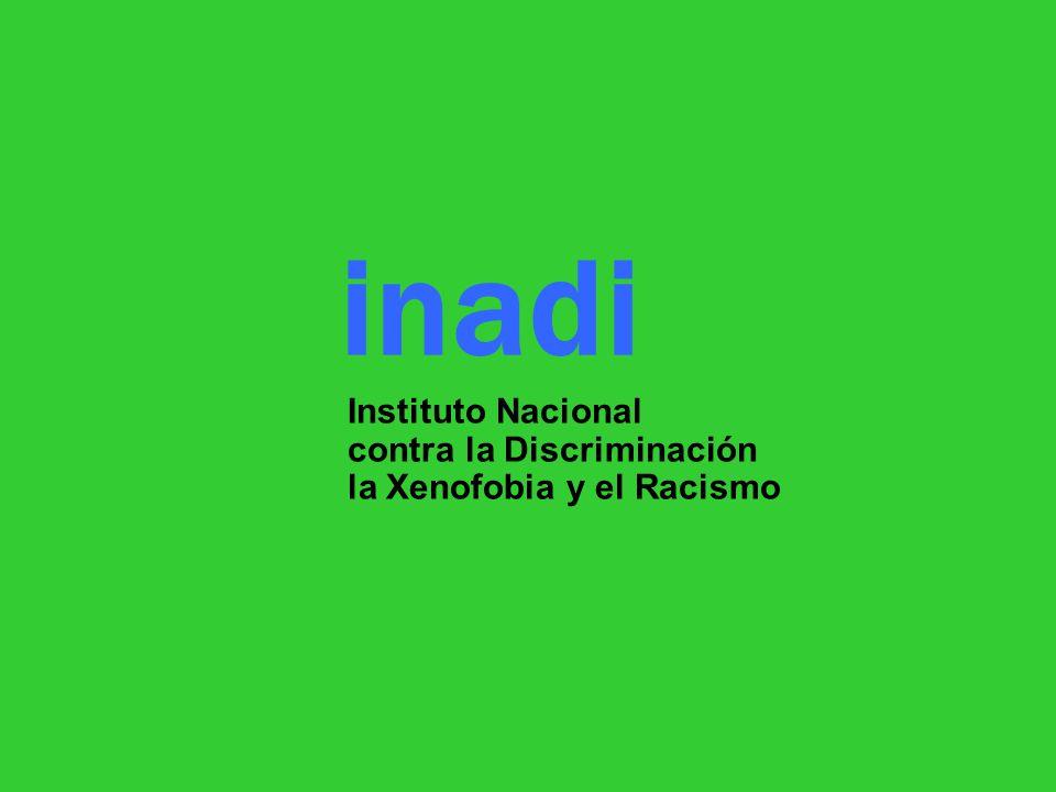 inadi Instituto Nacional contra la Discriminación la Xenofobia y el Racismo