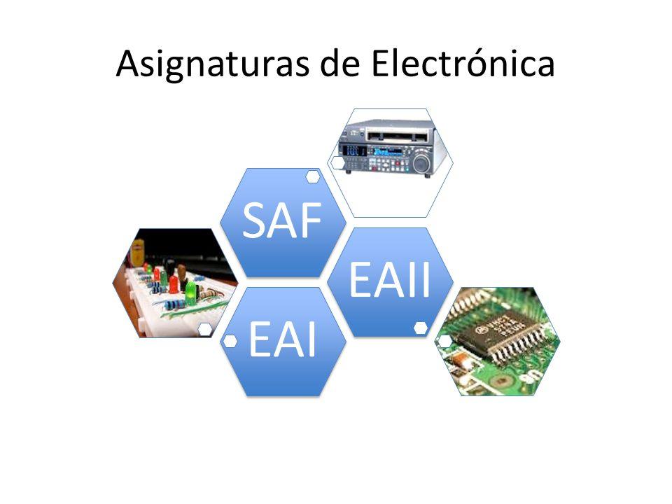 EAIEAIISAF Asignaturas de Electrónica