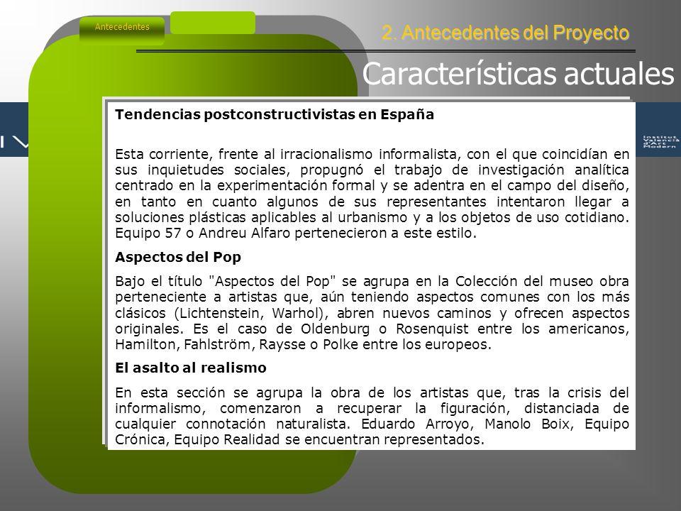 2. Antecedentes del Proyecto Antecedentes Años 30.