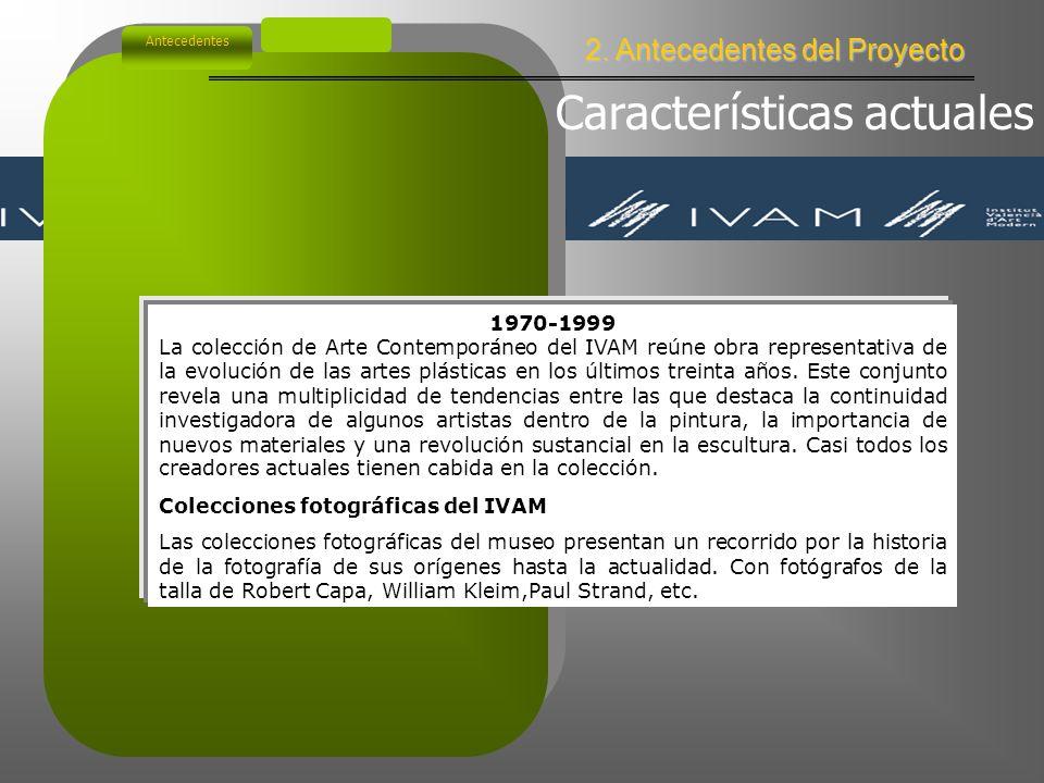 2. Antecedentes del Proyecto Antecedentes Tendencias postconstructivistas en España Esta corriente, frente al irracionalismo informalista, con el que