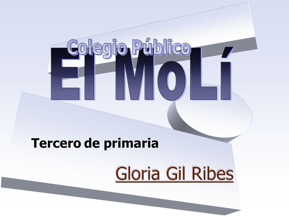 Tercero de primaria Gloria Gil Ribes