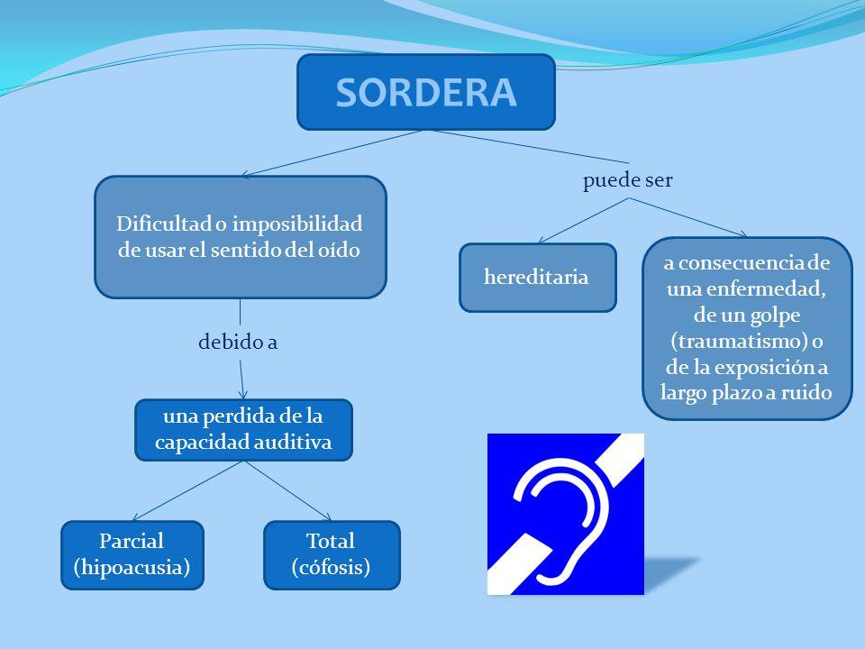 IMPORTANCIA DEL INICIO DE LA SORDERA Cuando aparece antes de haber consolidado el lenguaje, será antes de los 3 años.