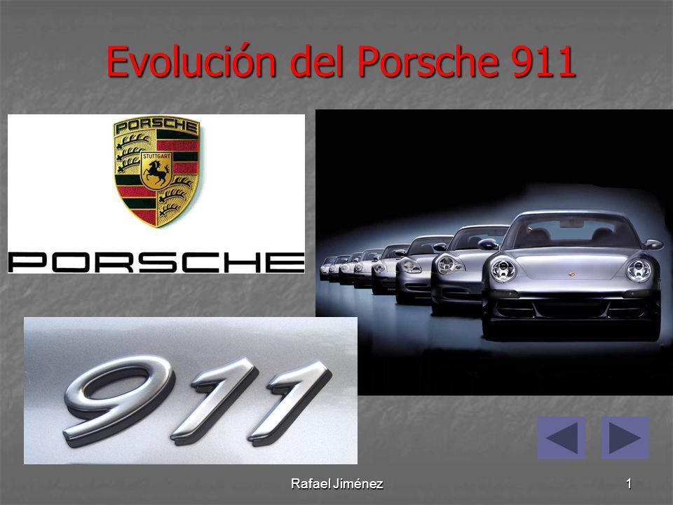 Rafael Jiménez2 Los orígenes: El primer 911 deriva del primer modelo de la marca, el Porsche 356, fabricado por Ferdinand Porsche a partir del Volkswagen Beetle.