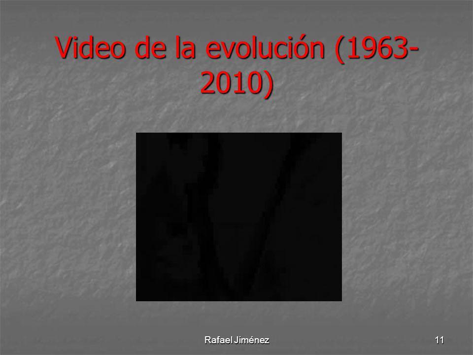 Video de la evolución (1963- 2010) Rafael Jiménez11