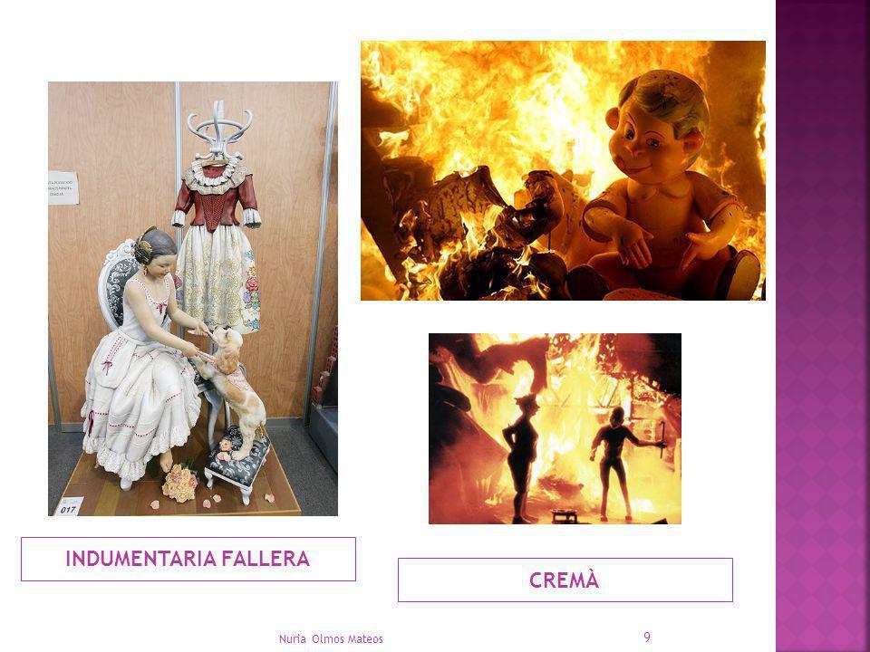 INDUMENTARIA FALLERA CREMÀ Nuria Olmos Mateos 9
