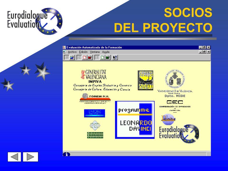 SOCIOS DEL PROYECTO