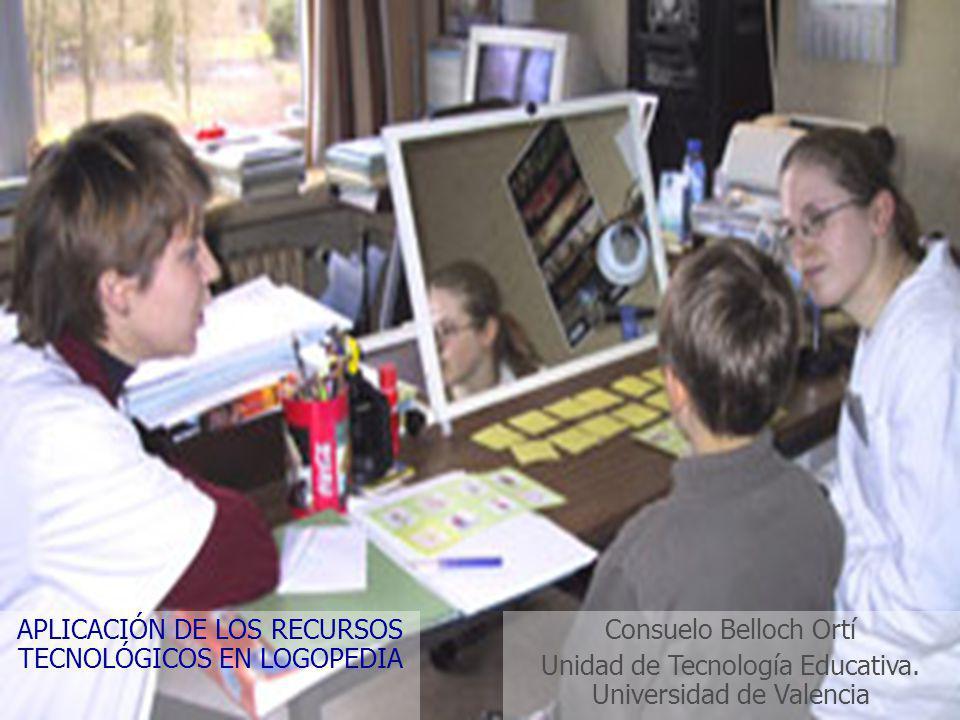 Consuelo Belloch Ortí Unidad de Tecnología Educativa.