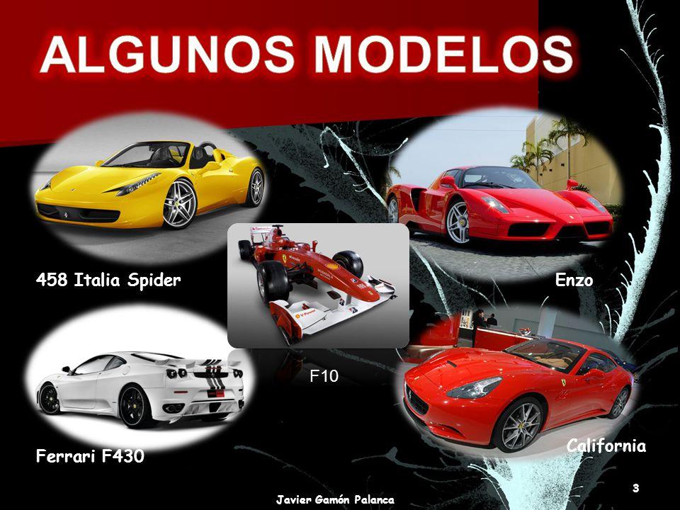 Enzo458 Italia Spider Ferrari F430 California 3 Javier Gamón Palanca F10