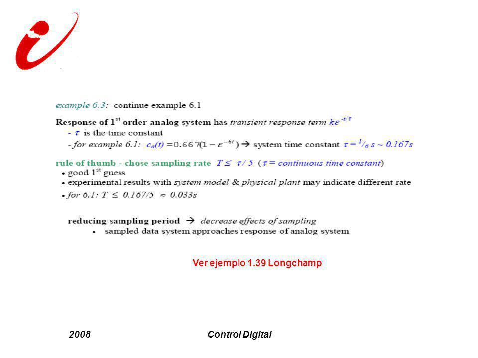 2008Control Digital Ver ejemplo 1.39 Longchamp