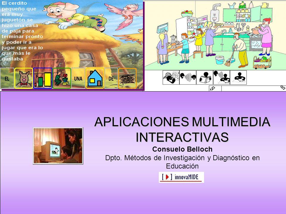 Aplicaciones Multimedia Interactivas Evaluación Descripción y catalogación Características técnicas Adecuación para la intervención Contexto de uso Criterios económicos