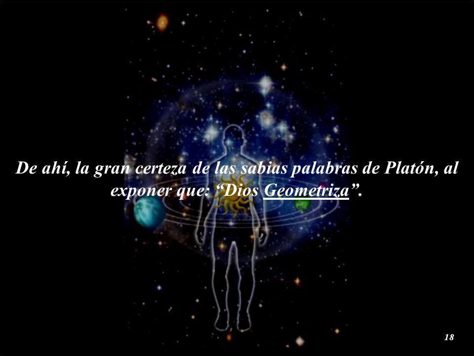 Desde cualquier punto de vista; el cáliz, nos muestra una imagen de las tres figuras geométricas que constituyen en su aspecto simbólico, esotérico y místico: El pasado, presente y futuro del Señor del Universo.