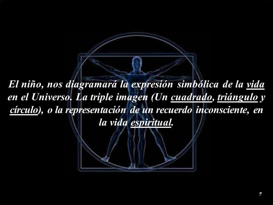 Al decir, Dios Geometriza; se debe, a que la geometría es la base angular del proceso de estructuración de las distintas formas de la Naturaleza.