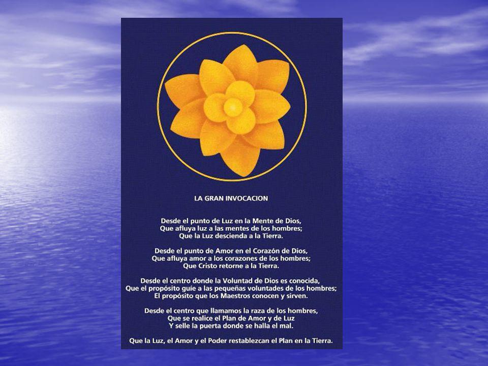 Origen de La Gran Invocación Sanat Kumara Sanat Kumara Instructor del Mundo (Cristo) Instructor del Mundo (Cristo) Maestro Tibetano Djwhal Khul Maestro Tibetano Djwhal Khul Alice A.