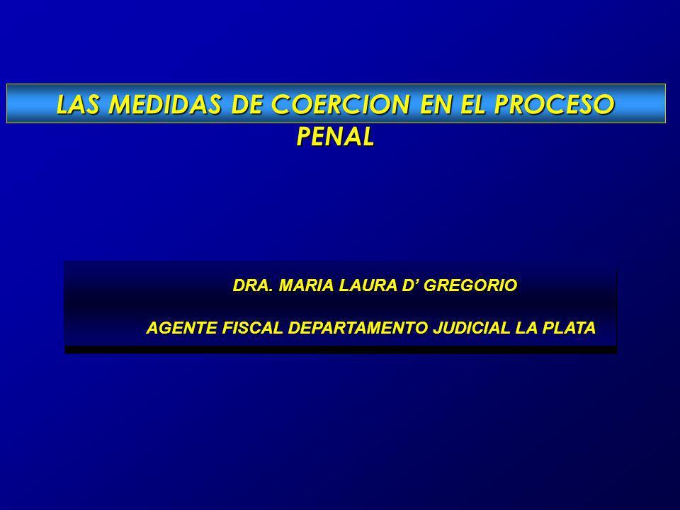 DRA. MARIA LAURA D GREGORIO DRA. MARIA LAURA D GREGORIO AGENTE FISCAL DEPARTAMENTO JUDICIAL LA PLATA AGENTE FISCAL DEPARTAMENTO JUDICIAL LA PLATA DRA.