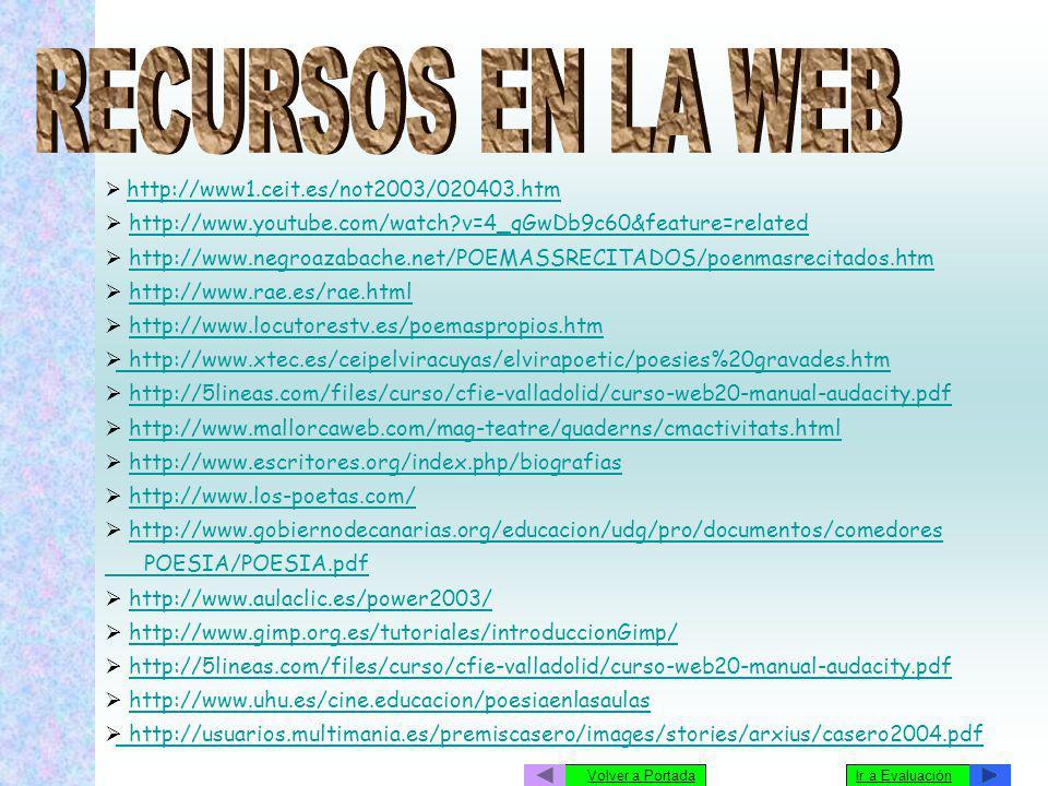 http://www1.ceit.es/not2003/020403.htm http://www.youtube.com/watch?v=4_qGwDb9c60&feature=related http://www.negroazabache.net/POEMASSRECITADOS/poenma