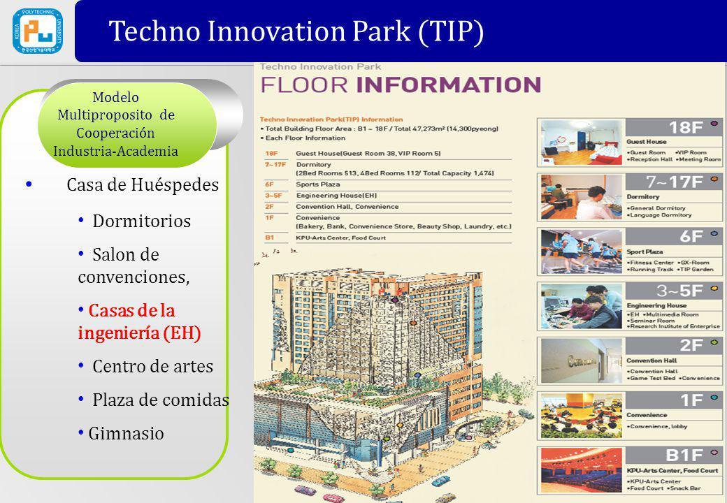 Modelo Multiproposito de Cooperación Industria-Academia Casa de Huéspedes Dormitorios Salon de convenciones, Casas de la ingeniería (EH) Centro de art