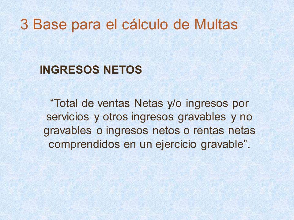 INGRESOS NETOS Total de ventas Netas y/o ingresos por servicios y otros ingresos gravables y no gravables o ingresos netos o rentas netas comprendidos