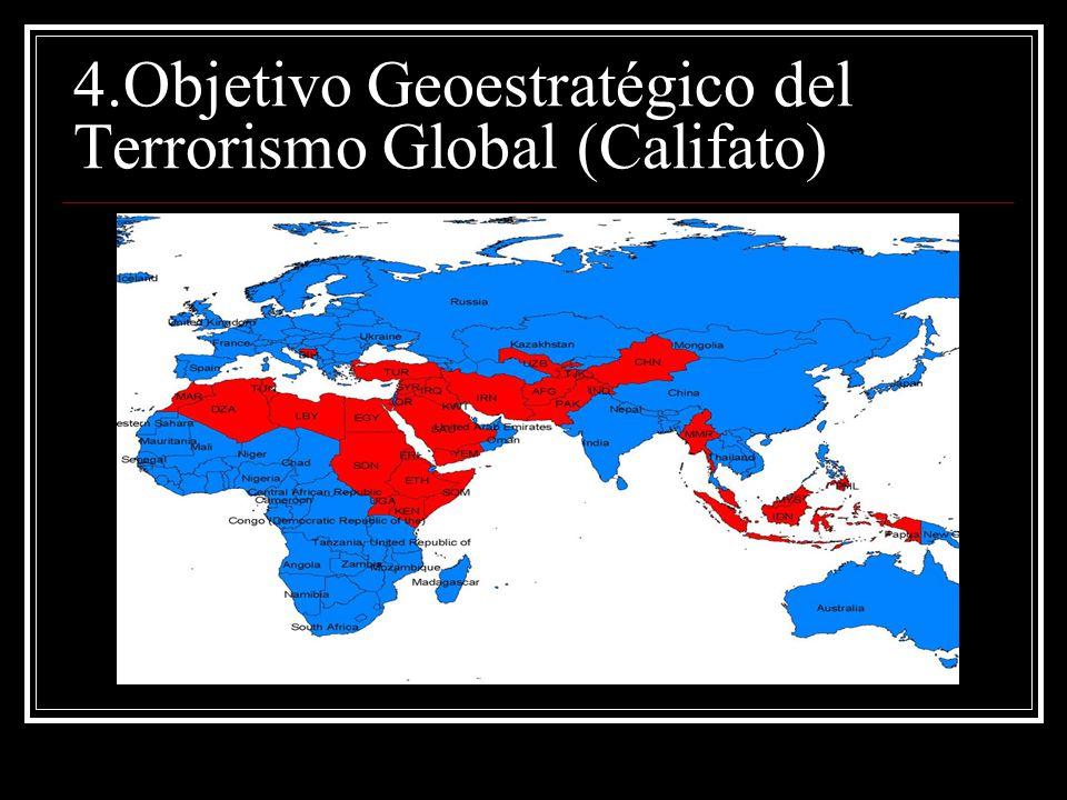 4.Objetivo Geoestratégico del Terrorismo Global (Califato)