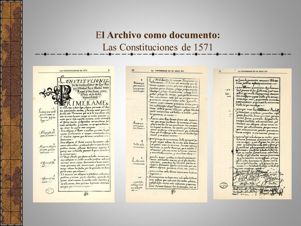 El Archivo como una oficina administrativa de la S. G: RR Nº 05496-R.01 del 31 de agosto del 2001