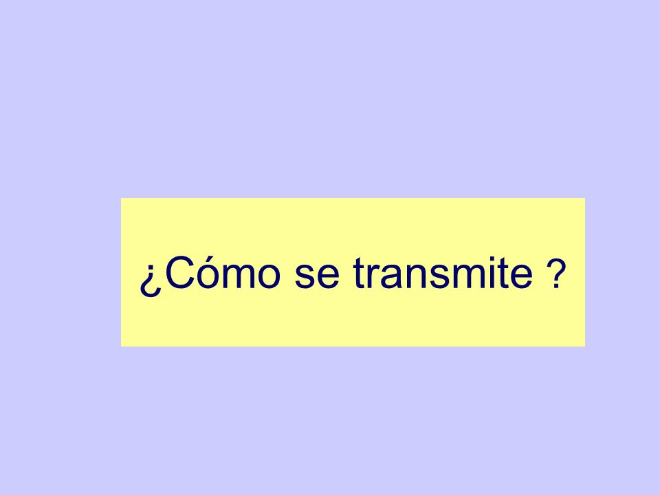 Forma mas común de transmisión, por contacto homosexual o heterosexual.