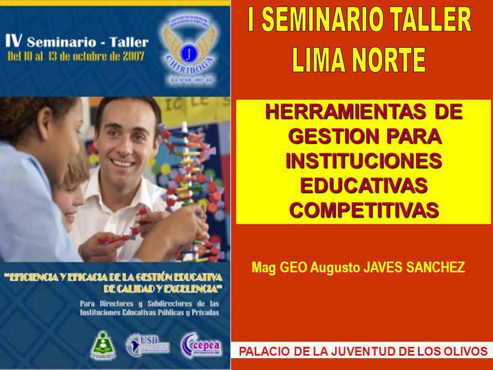 Mag GEO Augusto JAVES SANCHEZ 92 *El scanner, para implementar el código de barras, tuvieron que fundar la Asociación Peruana de Código de Barras e importar directamente todo el sistema.