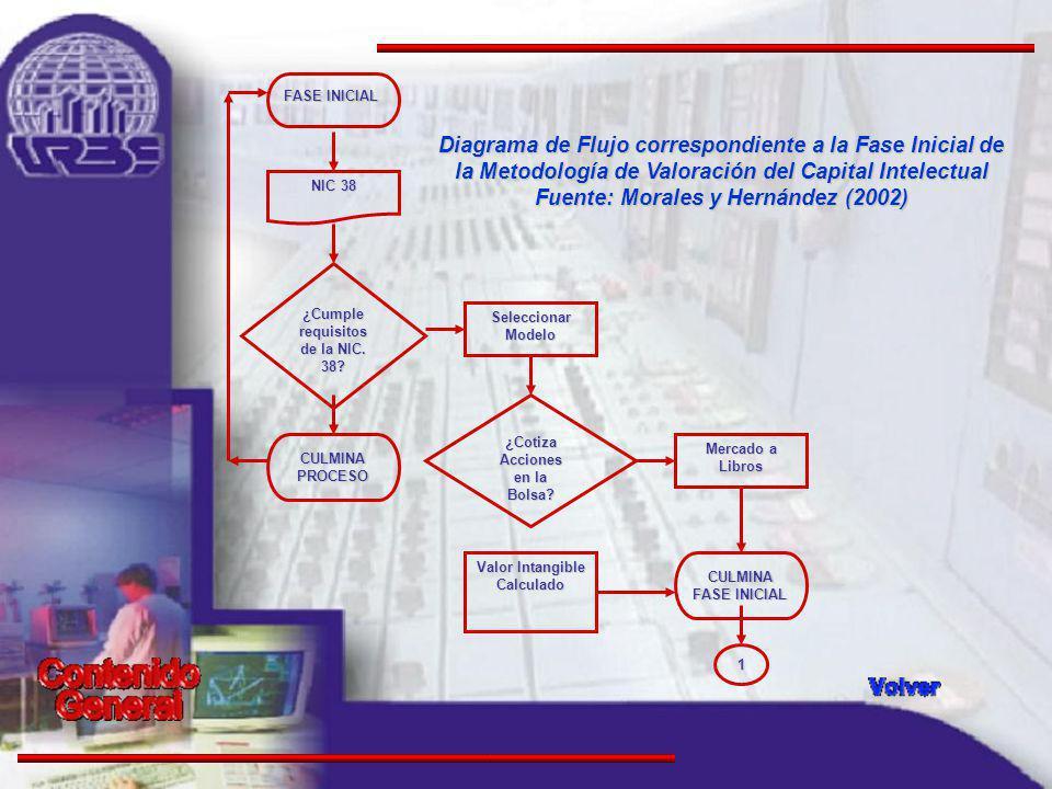FASE INICIAL NIC 38 Seleccionar Modelo CULMINA PROCESO ¿Cotiza Acciones en la Bolsa.