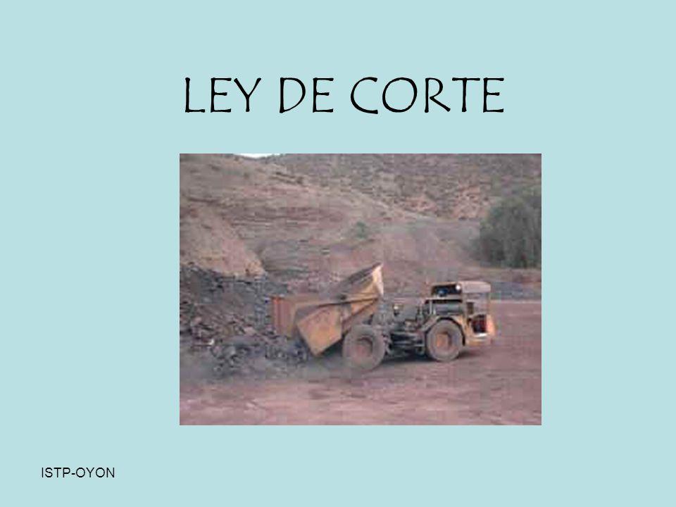 ISTP-OYON LEY DE CORTE