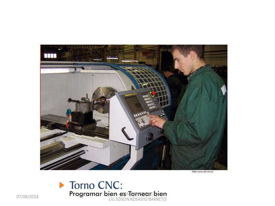 INTRODUCCIÓN Una máquina a control numérico, tanto torno como fresa, es una máquina convencional con algunos elementos más sofisticados, como por ejemplo una computadora que la comanda.