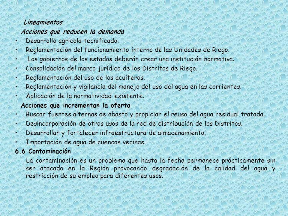 Lineamientos Potabilización del agua.Infraestructura de drenaje de aguas residuales.