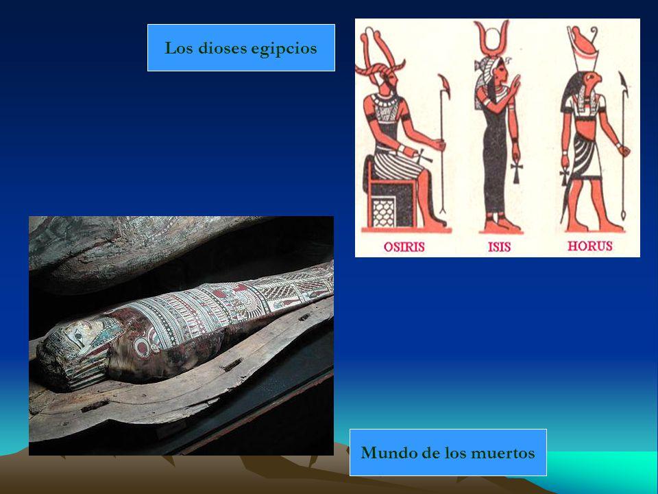 Mundo de los muertos Los dioses egipcios