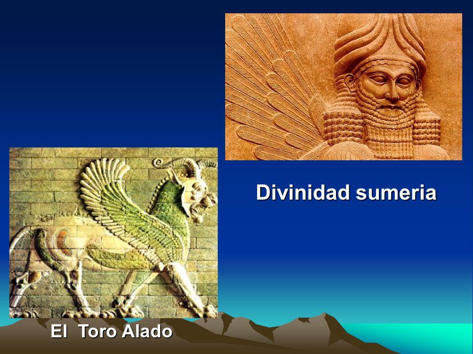 Templo Zigurat de Ur sXXI a.C El Toro Alado