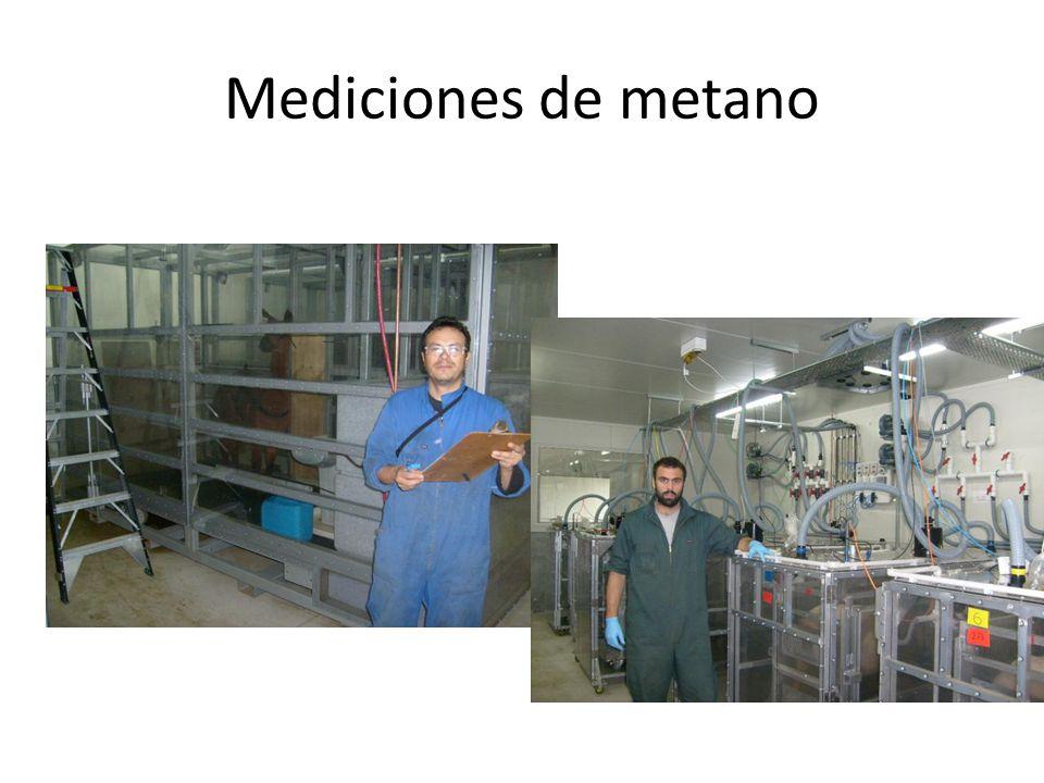Mediciones de metano